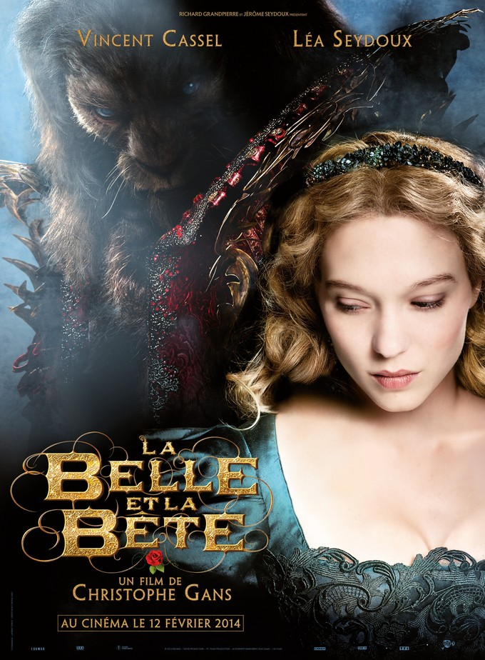 BEAUTY AND THE BEAST 2014 poster