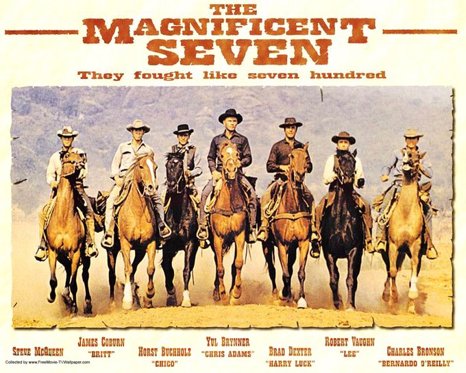 THE MAGNIFICENT SEVEN 1960 poster