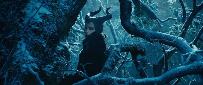 Angelina as Maleficent