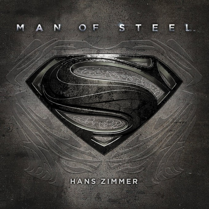 MAN OF STEEL CD cover