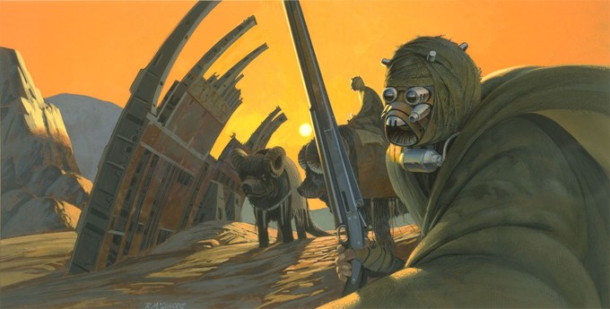 STAR WARS - McQuarrie concept art