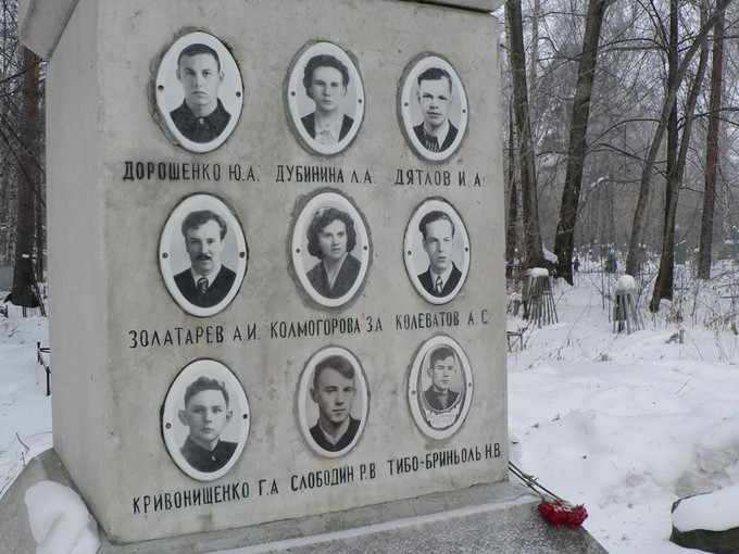 Dyatlov Pass real-life memorial