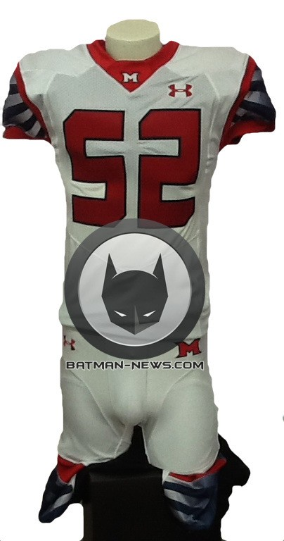 MAN OF STEEL sequel Metropolis football jersey