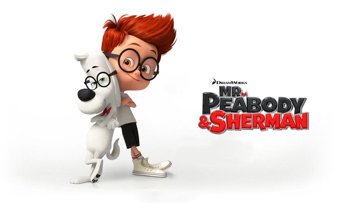 MR. PEABODY AND SHERMAN promo art