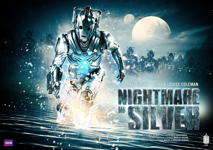 DOCTOR WHO S7 - Nightmare in Silver poster