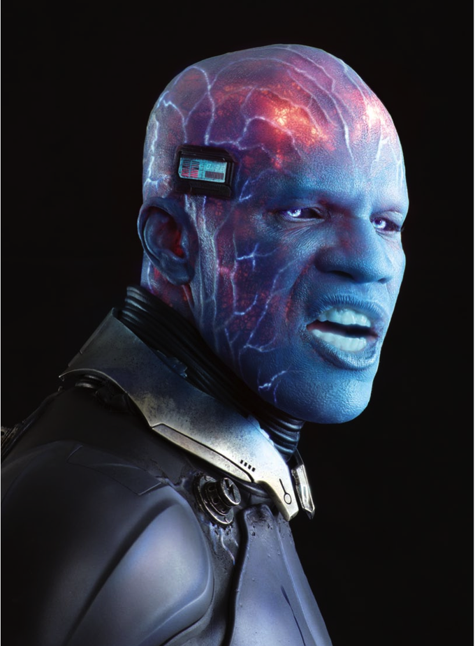 AMAZING SPIDER-MAN 2 - Jamie Foxx as Electro
