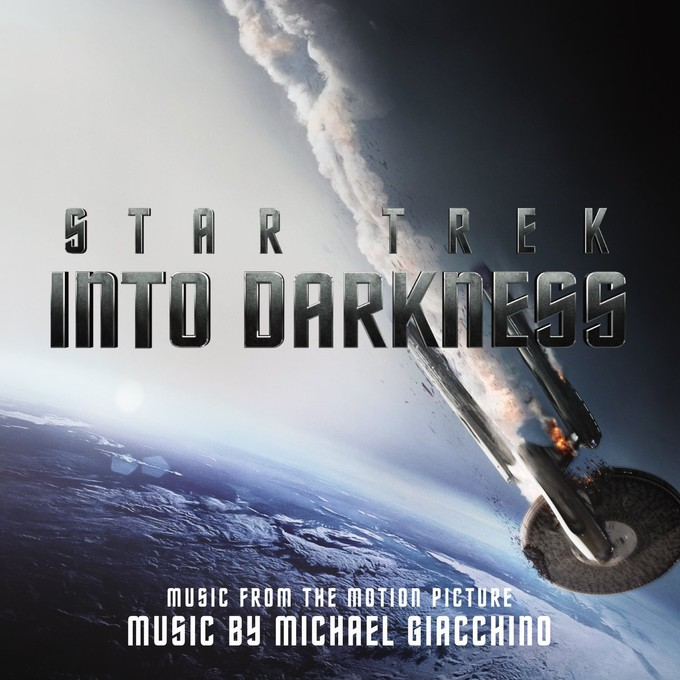 STAR TREK INTO DARKNESS Score CD art