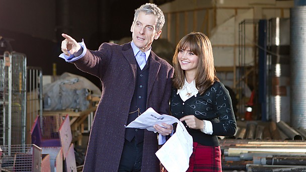 Peter Capaldi - DOCTOR WHO - first full day of his filming