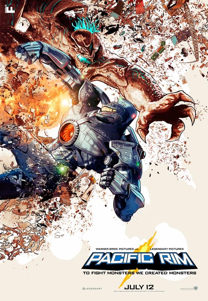 PACIFIC RIM IMAX poster