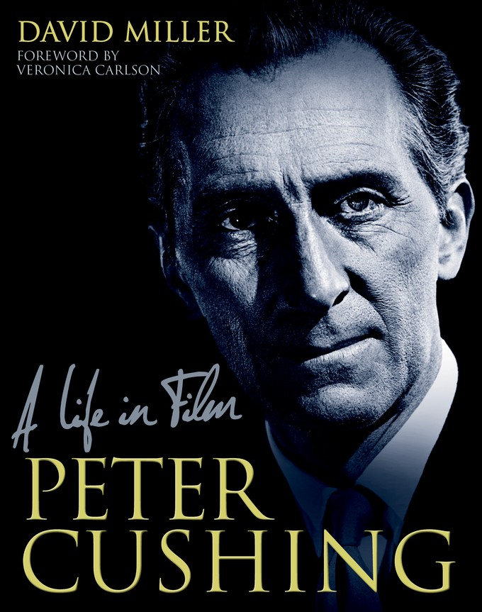 Peter Cushing: A Life in Film book cover (Titan Books)