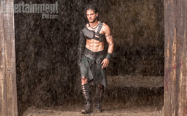 Kit Harrington as Milo in POMPEII