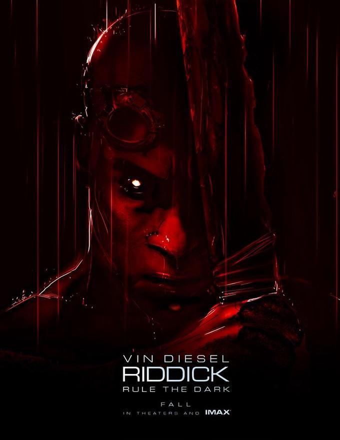RIDDICK SDCC poster