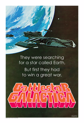 GALACTICA McQuarie poster