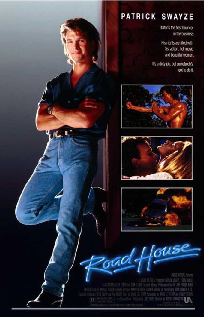 ROAD HOUSE 1987 poster