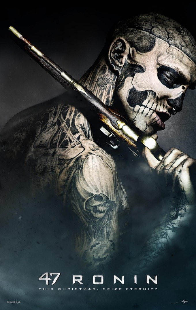 47 RONIN character poster