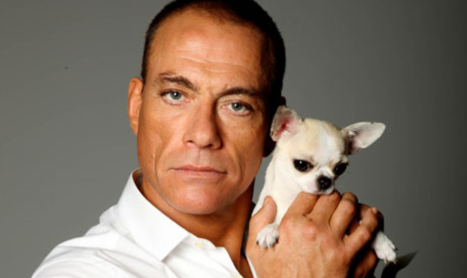 JCVD and friend