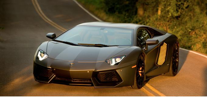 Lamborghini Aventador - TRANSFORMERS 4