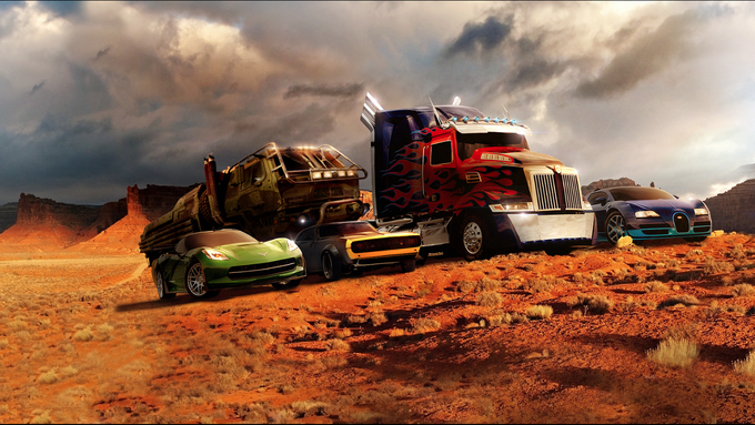 Autobots together - TRANSFORMERS 4