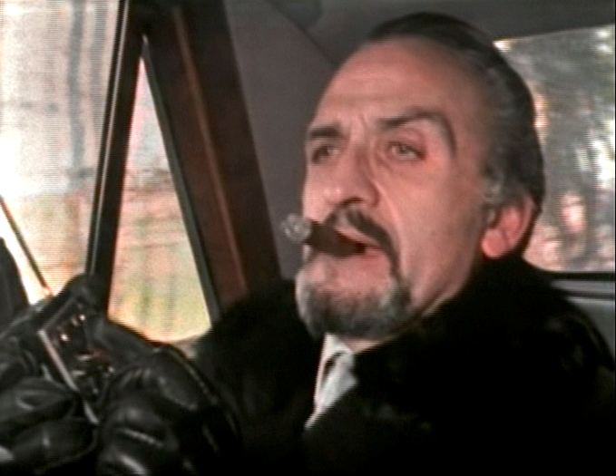 Roger Delgado as the Master in DOCTOR WHO: The Mind of Evil