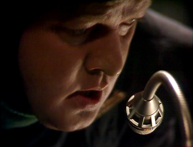 Malcolm Terris as co-pilot in DOCTOR WHO: The Horns of Nimon