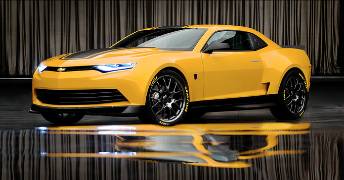 TRANSFORMERS 4: new Bumblebee concept car
