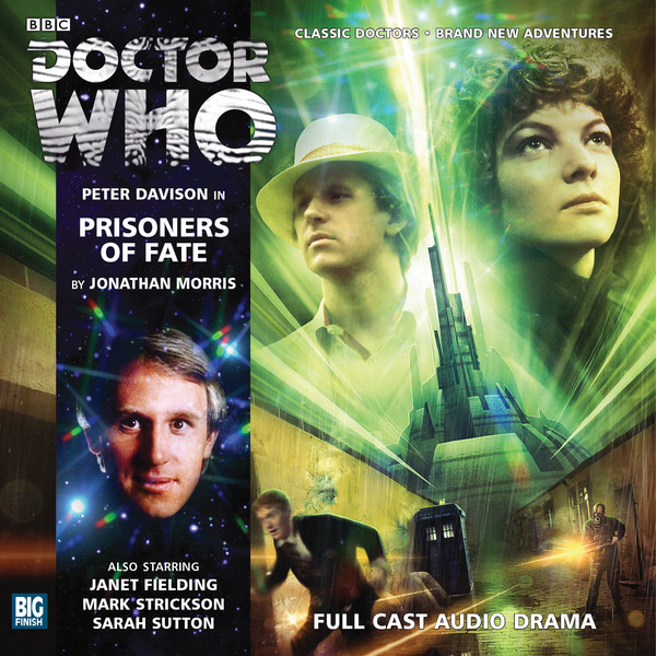 DOCTOR WHO: Prisoners of Fate Big Finish audio covefr
