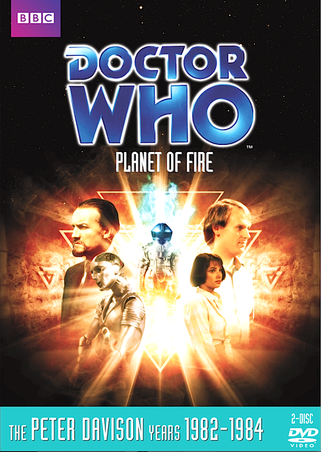 DOCTOR WHO: Planet of Fire DVD cover