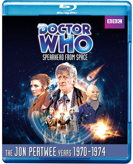 DOCTOR WHO: Spearhead from Space Blu-ray