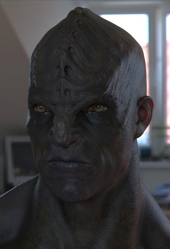 STAR TREK INTO DARKNESS Klingon/Page