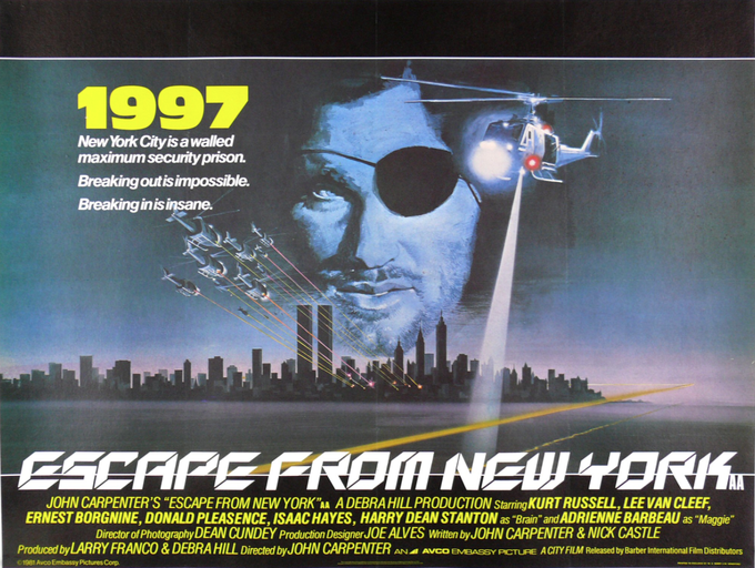 ESCAPE FROM NW YORK poster