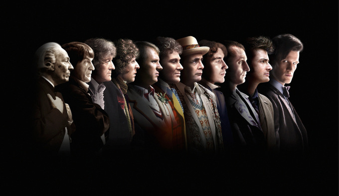 DOCTOR WHO 50th Anniversary artwork