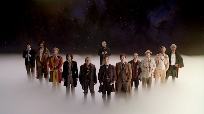 DOTOR WHO - 12 DOCTORS