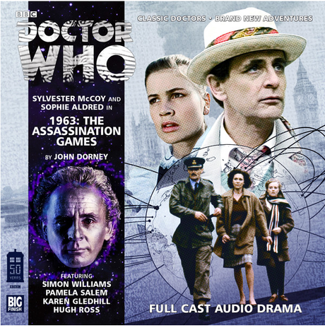 DOCTOR WHO: The Assassination Games Big Finish Audio cover