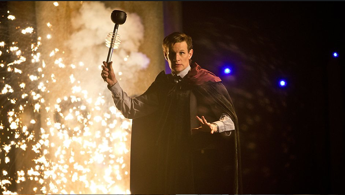 DOCTOR WHO: The Time of the Doctor promo image