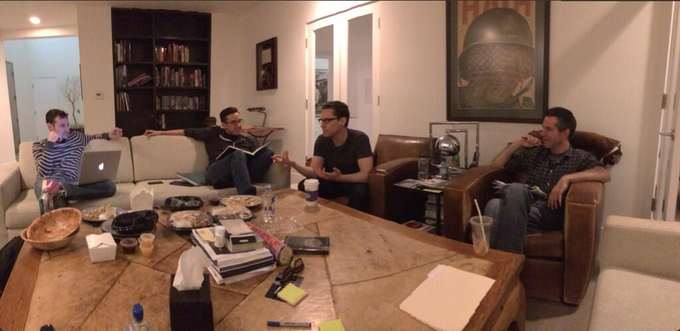 X-MEN APOCALYPSE story meeting