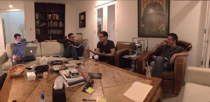 X-MEN APOCALYPSE story meeting