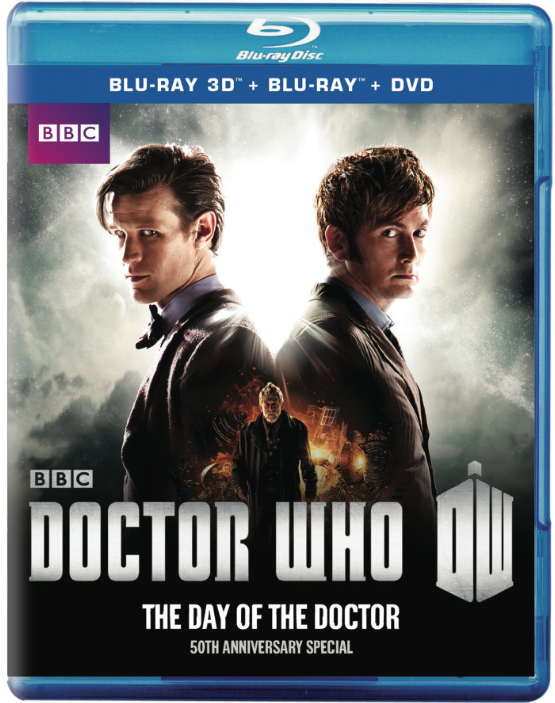 DOCTOR WHO: The Day of the Doctor Blu-ray cover