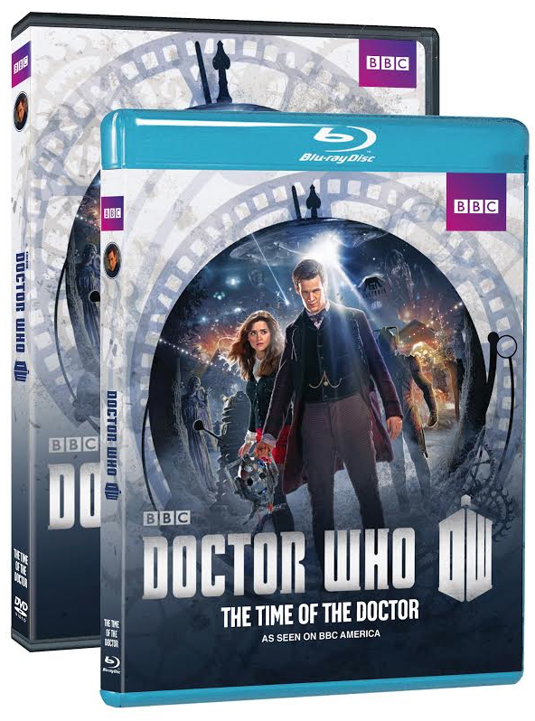 DOCTOR WHO: The Time of the Doctor home video packaging