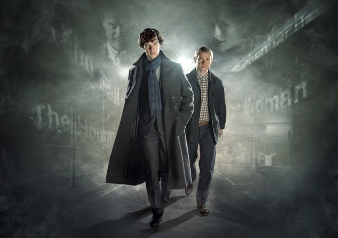 SHERLOCK Season 2 promo art