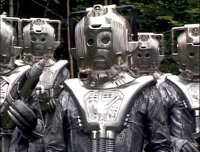 DOCTOR WHO: Silver Nemesis - Cybermen