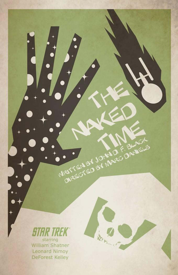 """STAR TREK: THE ART OF JUAN ORTIZ - """"The Naked Time"""""""