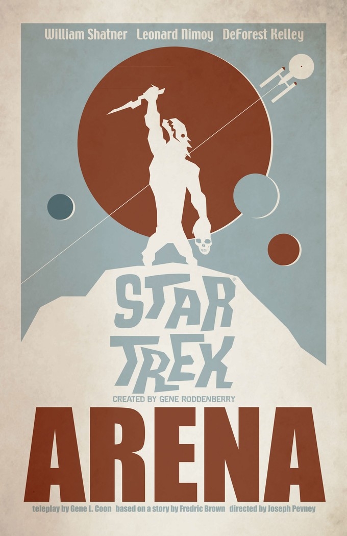 "STAR TREK: THE ART OF JUAN ORTIZ - ""Arena"""