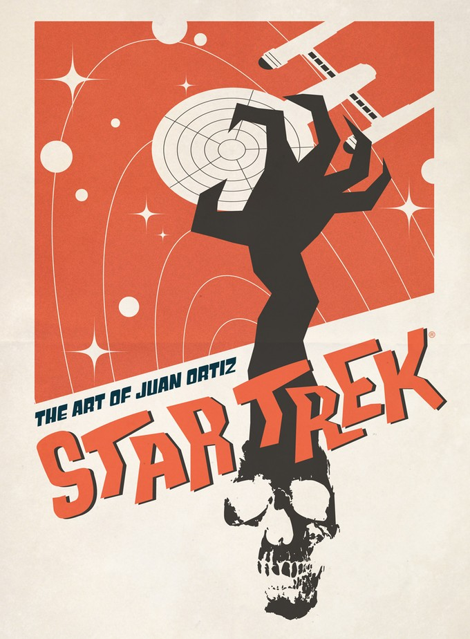 STAR TREK: THE ART OF JUAN ORTIZ from Titan Books