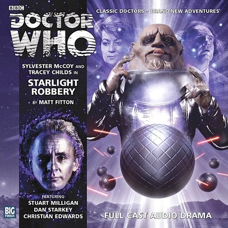 DOCTOR WHO: Starlight Robbery Big Finish Audio cover
