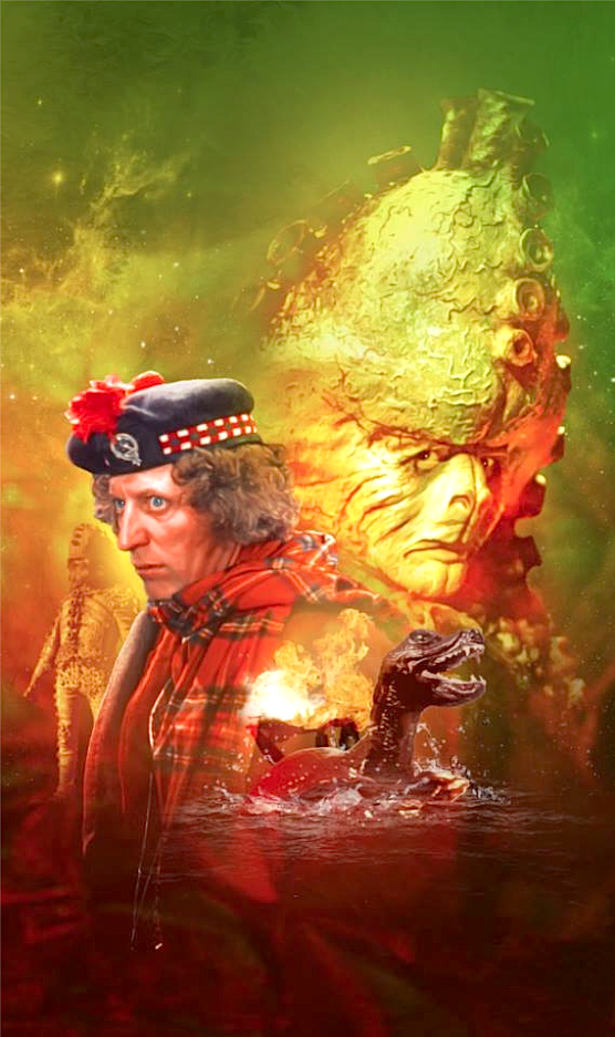 DOCTOR WHO: Terror of the Zygons - upcoming DVD cover art