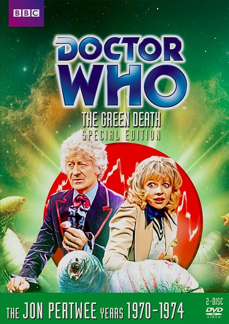 DOCTOR WHO: The Green Death DVD cover