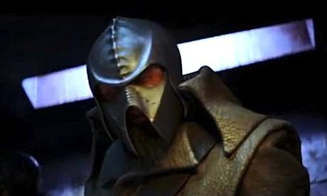 Klingon from deleted STAR TREK (2009) sequence
