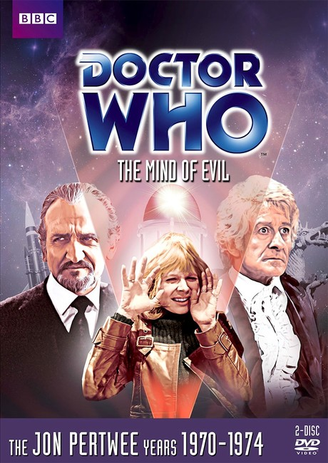 DOCTOR WHO- 'THe Mind of Evil' US DVD cover