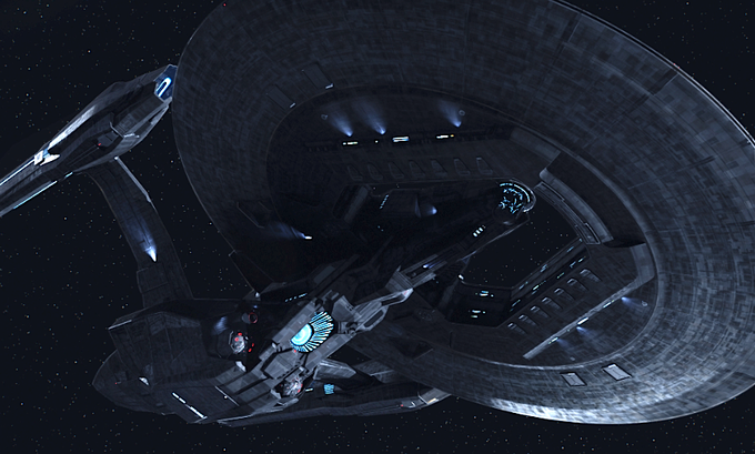 USS Vengeance - STAR TREK INTO DARKNESS