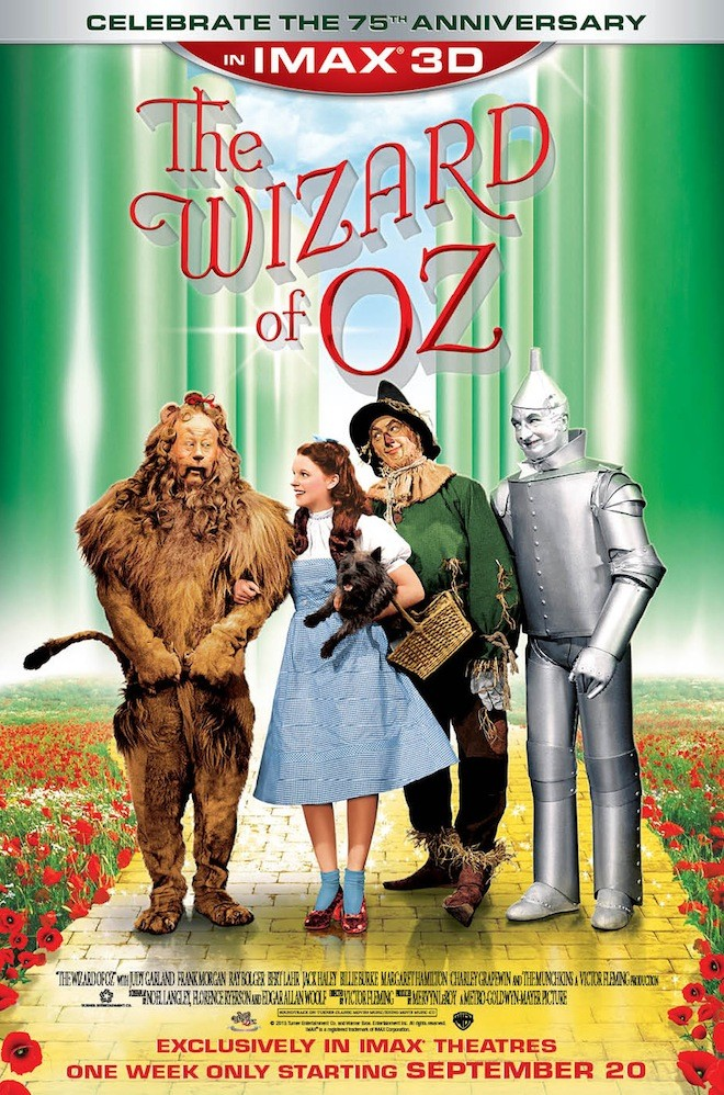 WIZARD OF OZ IMAX poster